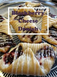 Entree To Life || Blackberry Cheese Danish -- semi-homemade goodness! uses crescent roll dough, so easy and customizable, can use any jam flavor you want and can be lightened up using reduced fat cream cheese and crescent roll dough! takes all of 15 minut...
