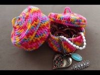 Crochet Jewelry Bowl Part 1 by Crochet Hooks You - YouTube