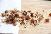Homemade Low-Fat Maple Apricot Almond Granola