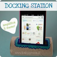 #diy #docking #station #paper #roll