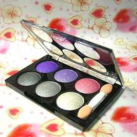 6 Colors Makeup Eye Shadow Palette - Alpha