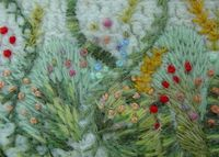 TAST - long and short stitchBy MarianneS. #embroidery #wool