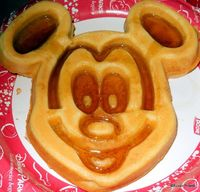 Awesome Mickey Waffle pic from DFB Reader Susan!!