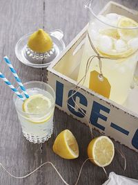 spicy icecream: Boozy Lemonade