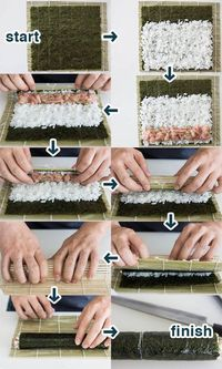 10 Tips to Make Your Own Sushi I've never had sushi before...