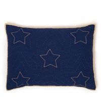 quilted stars - use the star quilt pattern on a plain colored quilt?