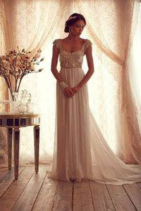 Anna Campbell Gossamer Wedding Gown Collection | Calligraphy by Jennifer