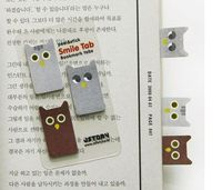 Cheap Thrill: Owl Index Sticky Note