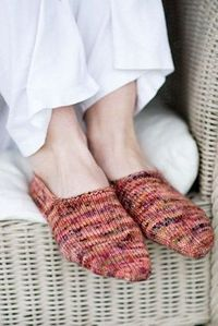 Turkish bed socks (love these!) from Churchmouse Yarns & Teas