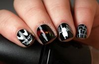 Venom Nail Art