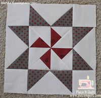 Piece N Quilt: Star Quilt {Martha Washington's Star}