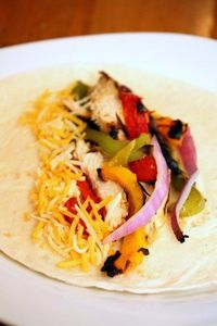 Grilled Chicken Fajitas by The Marvelous Misadventures of a Foodie