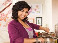 "Aarti Sequeira from ""Aarti's Party"" on Food Network"