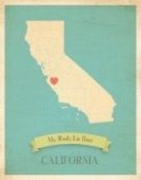 California- this is hanging in Grace's room :)