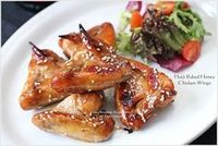 Cuisine Paradise | Singapore Food Blog - Recipes - Food Reviews - Travel: Huiji Baked Honey Chicken Wings