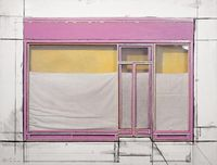 christo jeanne-claude store front