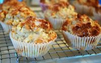Weight-Watchers Glazed Pear Muffins