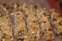 make your Own Nutty Granola bars.... and know what you are eating
