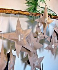 DIY advent calender - Click image to find more DIY & Crafts Pinterest pins