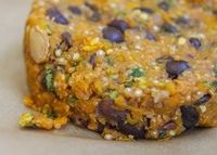 Butternut Squash and Black Bean Burger - Top Healthy Memorial Day Picnic Foods