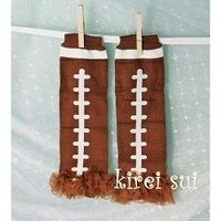 Football legwarmers...I think I could work with this
