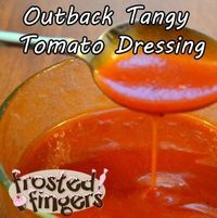 Outback at Home: Tangy Tomato Salad Dressing #Recipe