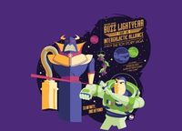 """Buzz Lightyear from the Intergalactic Alliance"" - Threadless.com"