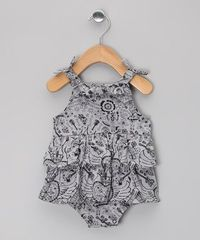Take a look at this Gray Mex Rock Ruffle Organic Bodysuit - Infant by Oh Baby London on #zulily today!