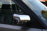 Give a stunning look to your car by just installing a Range Rover Vogue Chrome Mirror Covers - Full Covers available at adamesh4x4.co.uk.