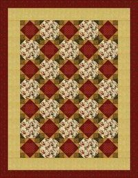 Snowballing Economy Quilt - Easy, yet stunning quilt made from two simple blocks.
