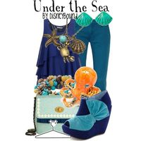 """Under the Sea"" by disneybound"