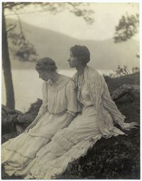 Two Women Under a Tree