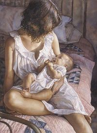 Steve Hanks - In The Eyes Of The Innocent (http://www.hiddenridgegallery.com/store/steve-hanks/in-the-eyes-of-the-innocent.html) #art #stevehanks