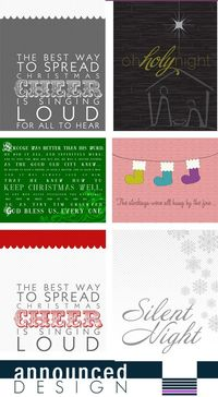 Fast and inexpensive way to get printable art for the holidays!
