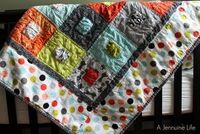 Pure Life by Sweetwater in a baby quilt