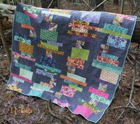 Stacks Quilt by KD-Quilts, via Flickr