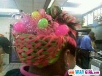 Easter Basket Hairstyle