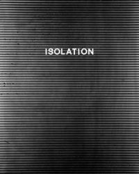 Isolation / #typography