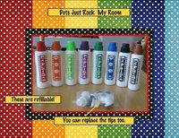 Re-fillable dot markers?????!!! What!!!! Cool!