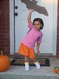 Cute Dora the Explorer Children Costume... This website is the Pinterest of costumes