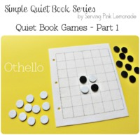 OTHELLO Quiet book game tutorial
