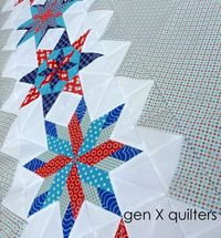 Finally - the Star Quilt Top