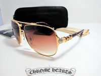 Chrome Hearts Sunglasses Bone Polishr SRE 2012 Gold