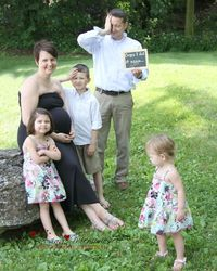 Cute family maternity picture by Loving Memories Photography & Design, LLC