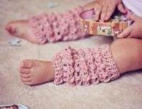 Crochet leg warmers pattern (child, adult size included)