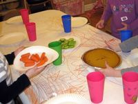 Preschool Creations: THANKSGIVING LUNCH