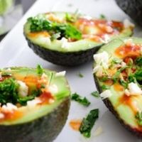 Spicy Soy Avocado- for those who love avocados and summertime...