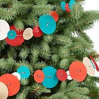 button (paper) garland