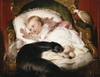 A Dog's Life: EOS! Prince Albert's Loyal Greyhound | The Esoteric Curiosa EOS with the Princess Royal, Victoria Artist: Landseer