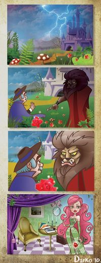 Beauty And The Beast part 1 by *darkodordevic on deviantART